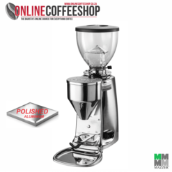 Mazzer Mini POLISHED Electronic On Demand Commercial Coffee Grinder