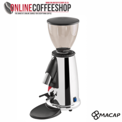 Macap M2D CHROME Programmable On Demand Domestic Coffee Grinder