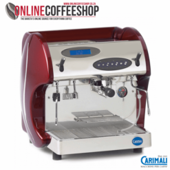 Carimali Kicco 1 Group Red Commercial Espresso Machine - E1 automatic