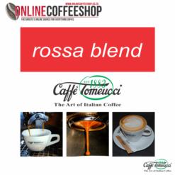Caffe' Tomeucci Rossa Blend Beans - 1kg